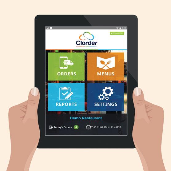 Clorder Order Status App
